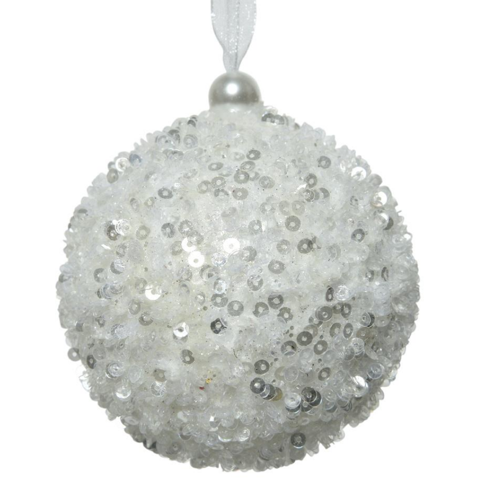 Winter White Christmas Bauble