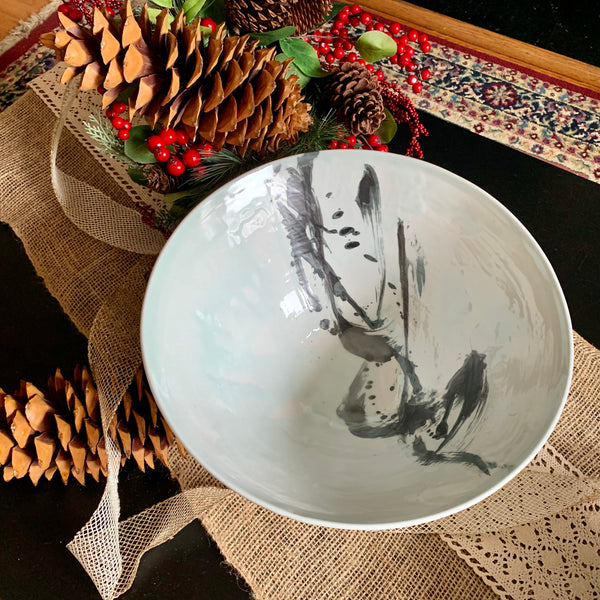 Gesture of Dance - Large Decorative Bowl