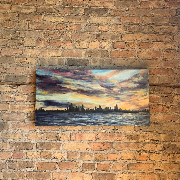 Chicago Skyline Painting