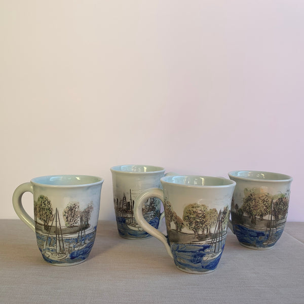 Montrose Harbor Mug Set (4)