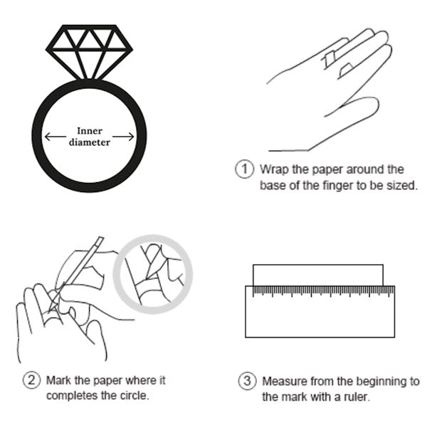 Hellojewelr Ring Size Guide