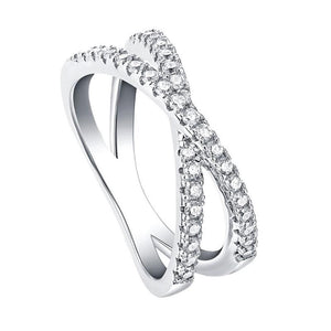 Hellojewelr Sterling Silver Fashion Wedding Band