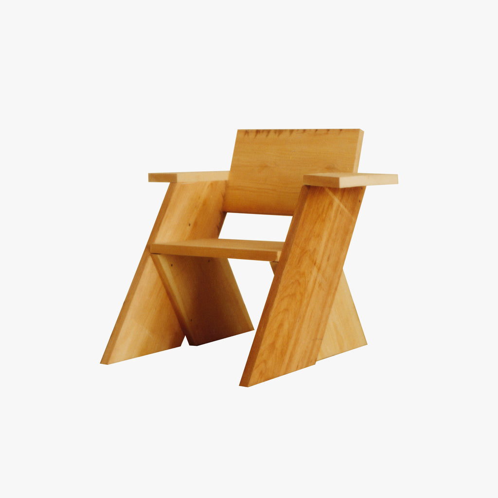 One Pine-Board Chair