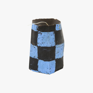 Igloo stack in blue and black