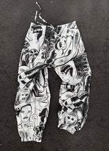 Club Cumming PJ Jogger Pant | Black & White