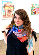 REBECCA MORGAN Oversized Art Scarf | Country Bumpkins Picnic
