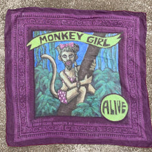 CARRI SKOCZEK Freak Show Bandanna | Purple Monkey Girl
