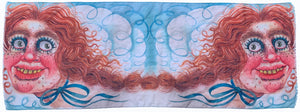 REBECCA MORGAN Art Scarf | Big Face Bumpkin