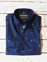 TARDIGRADE SS Button-Down Shirt by Joshua Joyce | NAVY