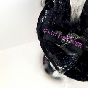 Beauty Mover washing under water. Makeup Remover. Eco Friendly. Reusable. Non Toxic.