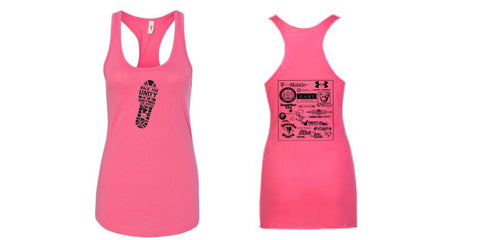 Walk for Unity Women Racerback Tank Top