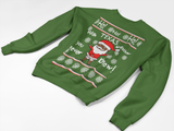 Texas Santa- Kid Sweater