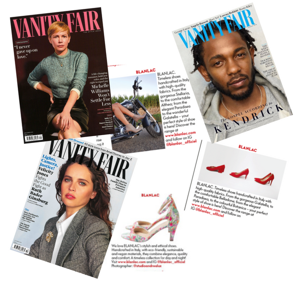 BLANLAC - featured in Vanity Fair UK