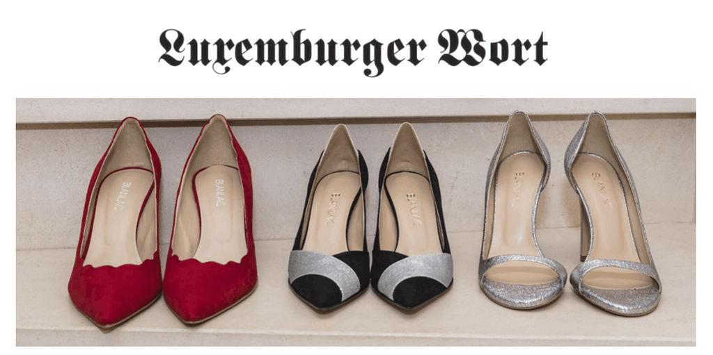 LUXEMBURGER WORT BLANLAC VEGAN SHOES