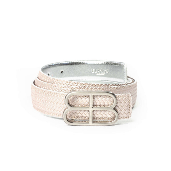 LIANA REVERSIBLE BELT & SILVER BUCKLE