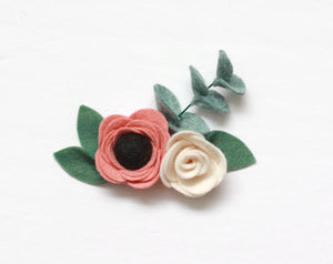 Romance || Eucalyptus Rose Mini Crown
