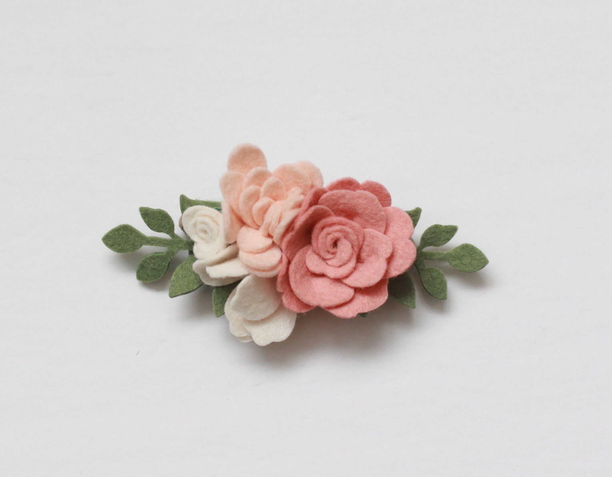 Romance || Blush Roses Vine Mini Crown