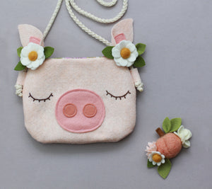 FARM FRESH || RTS Miss Piggy Purse