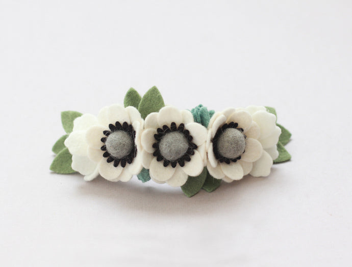 FARM FRESH || Mini Anemone Crown - Classic Cream