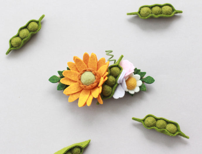 FARM FRESH || Gerbera Peas Crown
