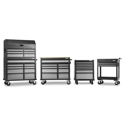 10 of 17 images - Premier 41 inch 15-drawer Mobile Tool Chest Combo (thumbnails)
