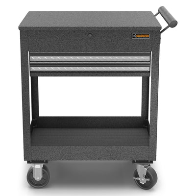 1 of 4 images - 2-Drawer Utility Cart (thumbnails)