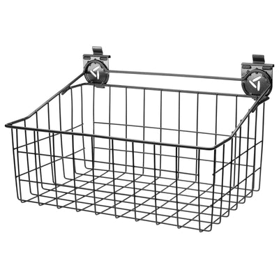 "1 of 3 images - 18"" Wide Wire Basket (thumbnails)"