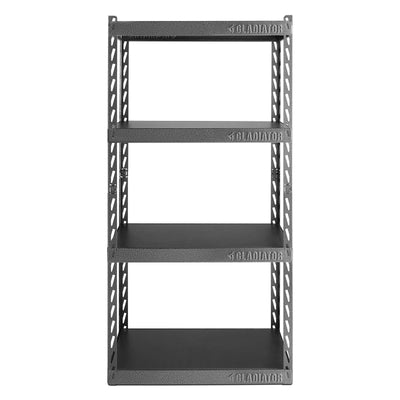 "1 of 7 images - 30"" Wide EZ Connect Rack with Four 15"" Deep Shelves (thumbnails)"