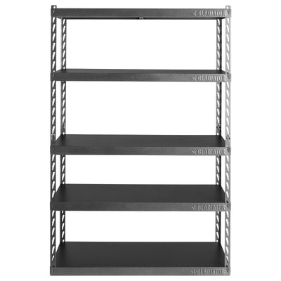 "1 of 6 images - 48"" Wide EZ Connect Rack with Five 24"" Deep Shelves (thumbnails)"