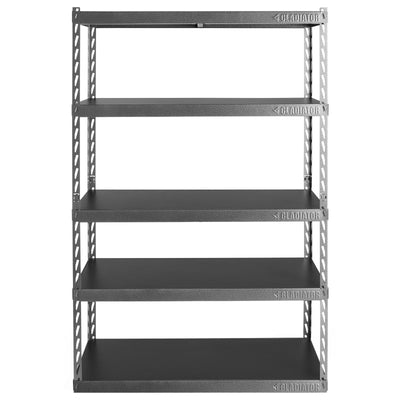 "1 of 6 images - 48"" Wide EZ Connect Rack with Five 18"" Deep Shelves (thumbnails)"