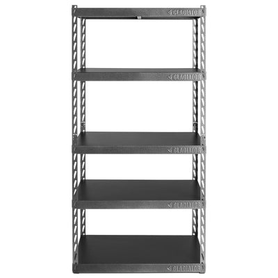 "1 of 6 images - 36"" Wide EZ Connect Rack with Five 18"" Deep Shelves (thumbnails)"