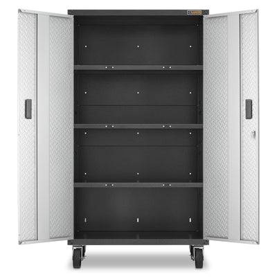 3 of 7 images - Ready-to-Assemble Mobile Storage Cabinet (thumbnails)