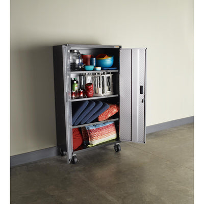 2 of 7 images - Ready-to-Assemble Mobile Storage Cabinet (thumbnails)