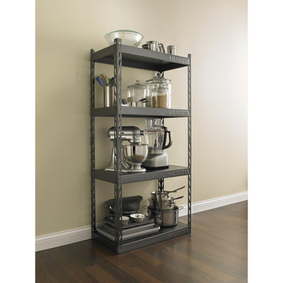 "5 of 7 images - 30"" Wide EZ Connect Rack with Four 15"" Deep Shelves (thumbnails)"