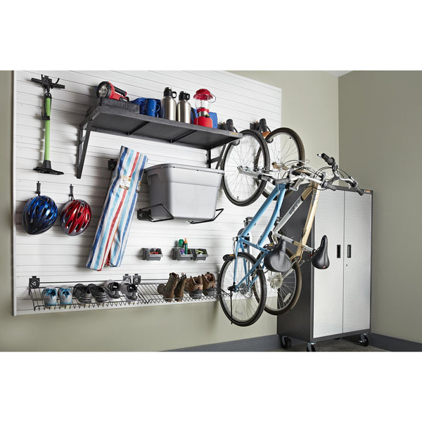 Great for hanging your bicycle. Gladiator Claw v3.0 Advanced Bike Storage