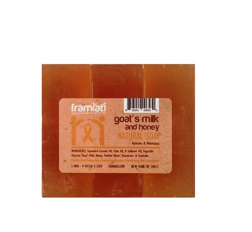 Goat's Milk & Honey Soap, 8 oz (Bulk Packs)
