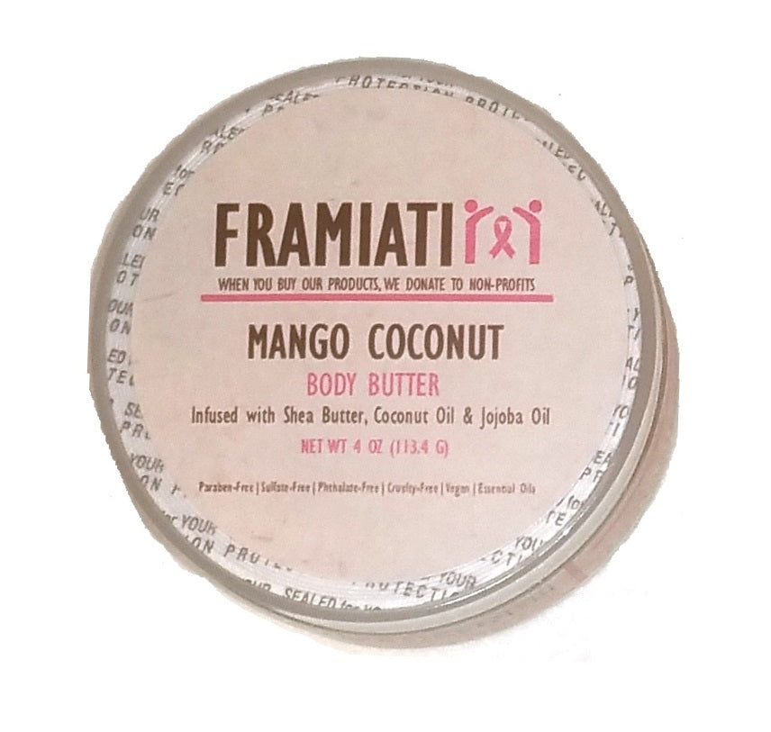 Mango Coconut Body Butter