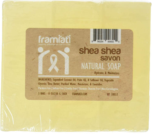 Shea Shea Savon, 8 oz (Bulk Packs)