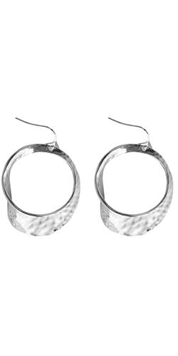 silver earrings perfect for day and night