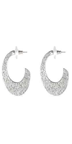 silver earrings made in colombia