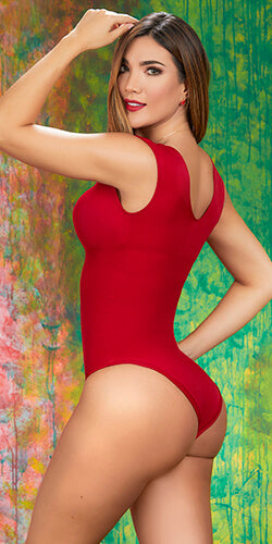 Hot red bodysuit