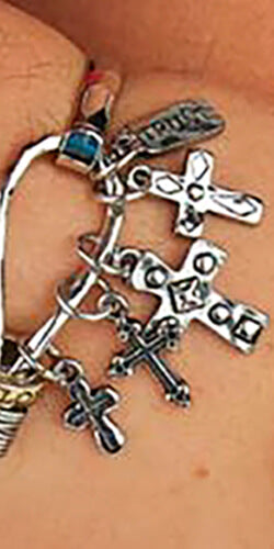 Crosses Charms