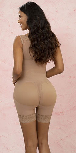 Long bodyshaper highcompression butt lift