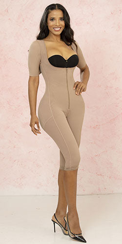 Colombian long shapewear in powernet