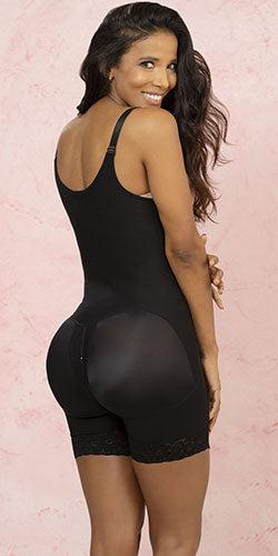 Butt lift shapewear black sexy lace