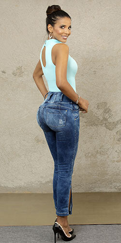 Butt lift colombian jeans shape legs and hips