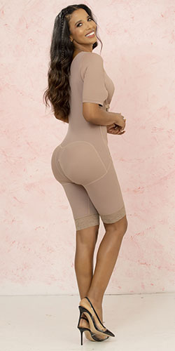 Shapewear high compression shape legs and arms
