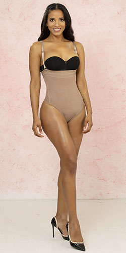 Nude girdle made in colombia tissini control abdomen cinches waist