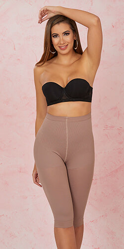 High waisted girdle helps you control your abdomen and loose inches