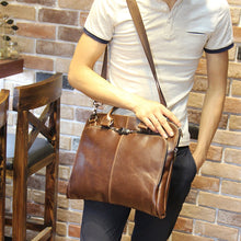 Load image into Gallery viewer, 13-14 Inch Laptop Leather Bags
